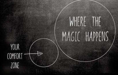 Твоя зона комфорта и место, где случается магия