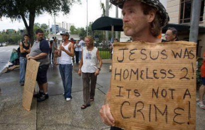 Иисус тоже был бездомным. Это не преступление