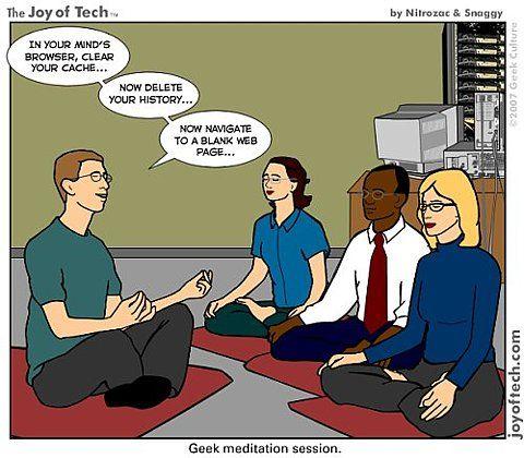 Медитация гиков