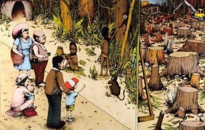 Когда будет срублено последнее дерево…