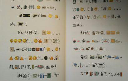 Язык будущего из книги Сюй Бин