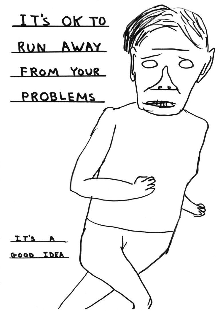 Хорошая идея: бежать от твоих проблем