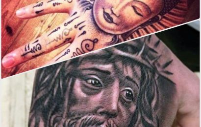 Tattoo: Buddha vs. Jesus 7
