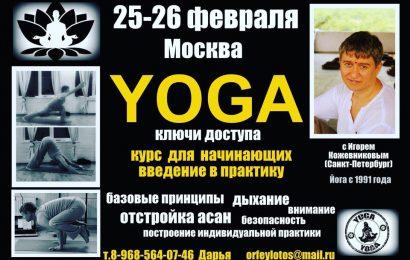Семинар «Хатха-йога. Ключи доступа»