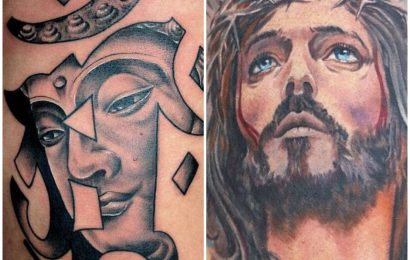 Tattoo: Buddha vs. Jesus 10