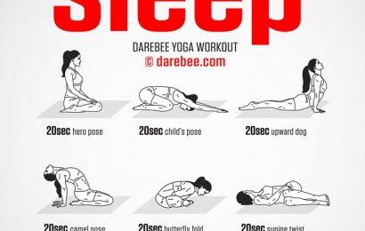 Йога для улучшения сна