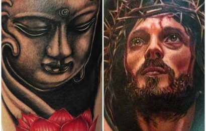 Tattoo: Buddha vs. Jesus 14