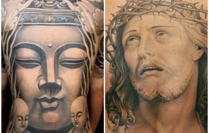 Tattoo: Buddha vs. Jesus 15
