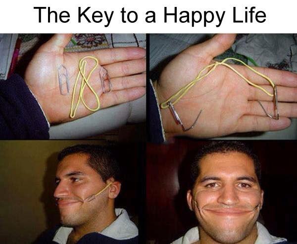 Ключ к счастливой жизни