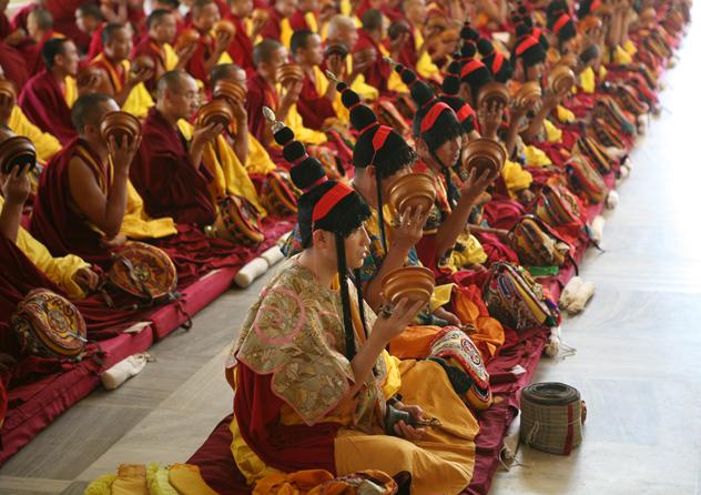 Обертонное пение монахов Тибета