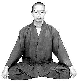 Поза Дзадзен – поза длясидячей медитации